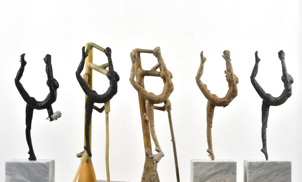 Arbeitsschritte Bronzeguss