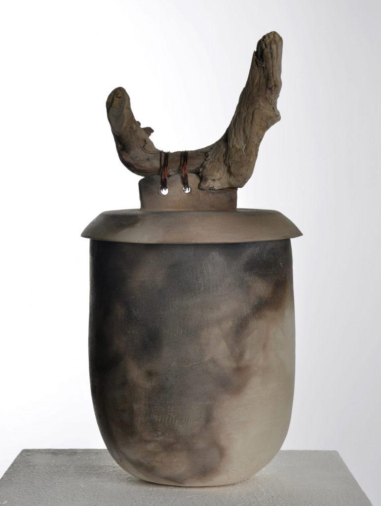 Gefäss / Urne mit Deckel