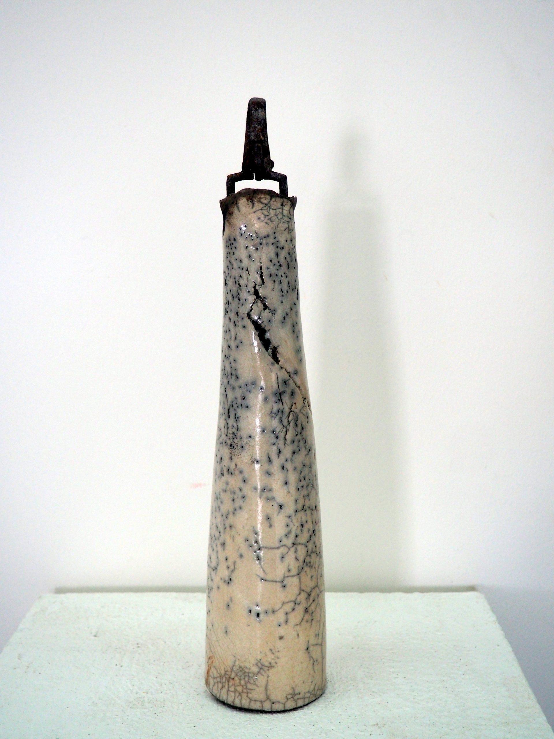 Raku-Objekt I Höhe ca. 40 cm I Frau